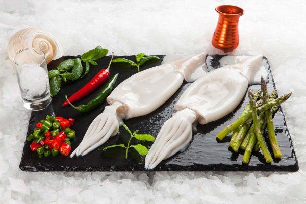 Super Fish Θράψαλο Arrow Καθαρισμένο Με Πτερύγια / nototodarus sloanii