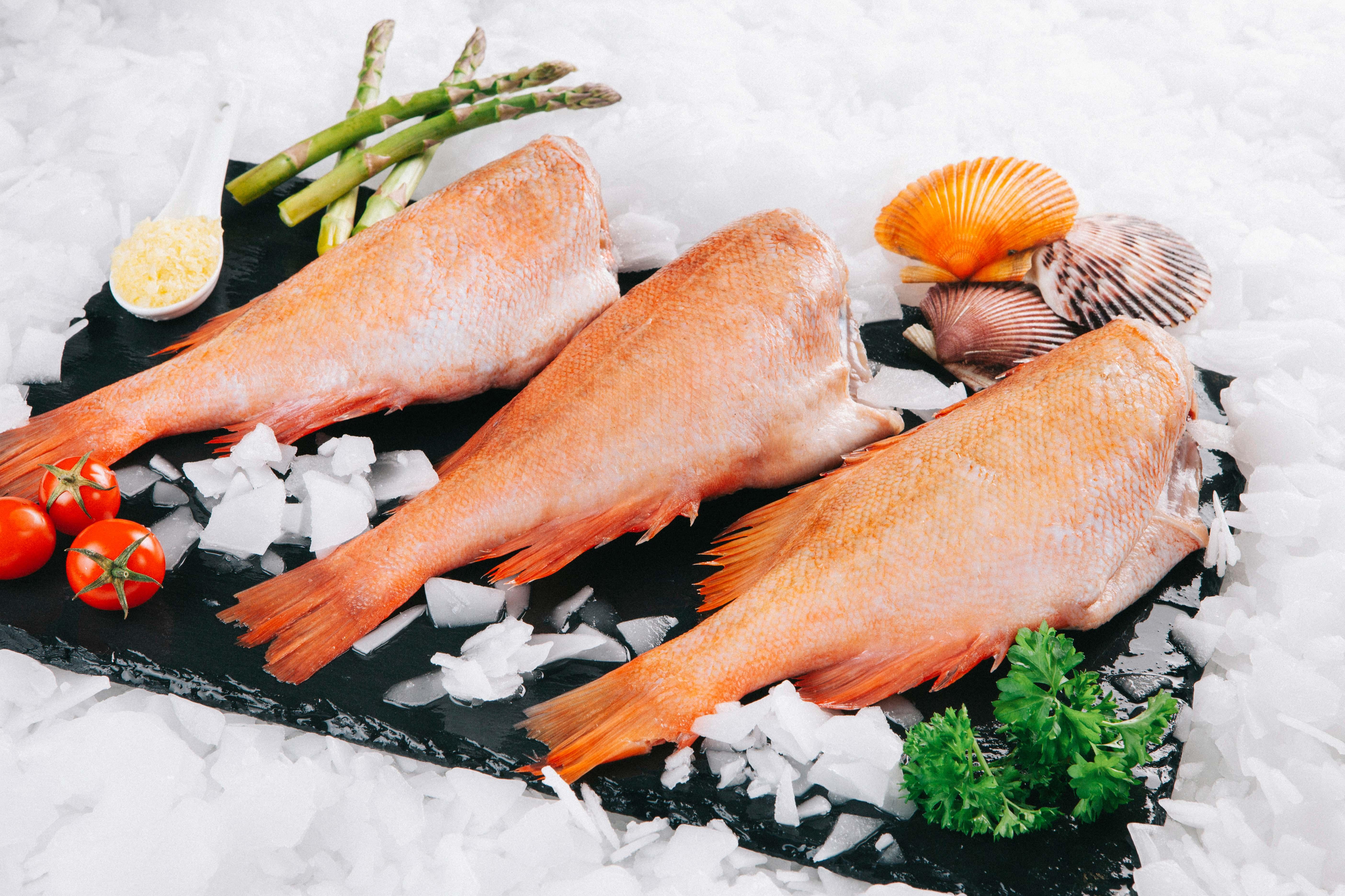 Supper Fish Ψάρια Κοκκινόψαρο Ακέφαλο _-2